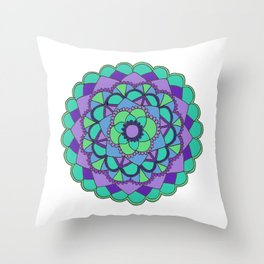Mandala 2 Throw Pillow