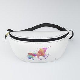 Watercolor Unicorn Fanny Pack