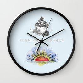 Daybreak Cupcake Wall Clock