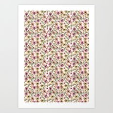 Painted Floral Art Print
