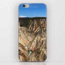 Yellow Rocks Of Yellowstone River Valley iPhone Skin