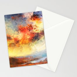 Fire By Night Stationery Cards