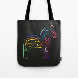 The dalecarlian horse - The heart of Esperanza Tote Bag