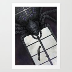 Die Spinne Art Print