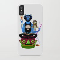 the thing iPhone & iPod Cases featuring Thing by Matej