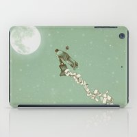 flight iPad Cases featuring Solitary Flight by Eric Fan