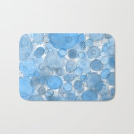 Water Drops Bath Mat