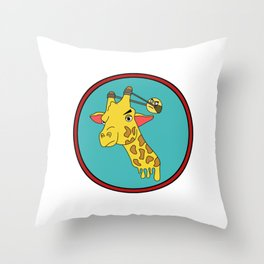 Awsome & Cool Slingshot Tshirt Design Angry slingshot Throw Pillow