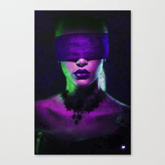 Purple - Illustration Canvas Print