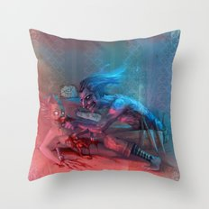 Suck it! Throw Pillow