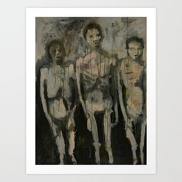 Childhood (Auschwitz) Art Print