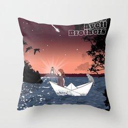 avett brothers album 2020 ansel3 Throw Pillow
