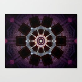 Purple Velvet Canvas Print
