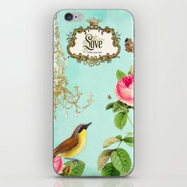 Love who you are iPhone Skin