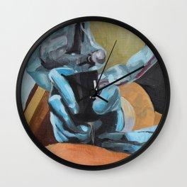 Tattooing Wall Clock