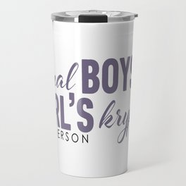 Fictional Boys . . . Travel Mug