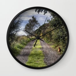 Chicken Run Wall Clock