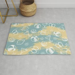 Beachy Summer Rug