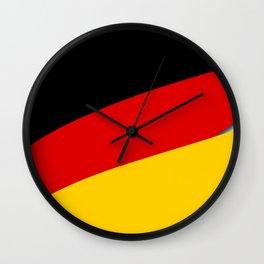 Team Germany #deutschland #germany #wm2018 #weltmeisterschaft #russia #football #worldcup #soccer #f Wall Clock