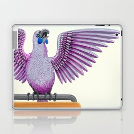 Kokako singing  Laptop & iPad Skin