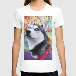 Dreaming Husky T-shirt