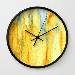 Earth toned abstract Wall Clock