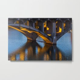 Evening at Townlake Metal Print