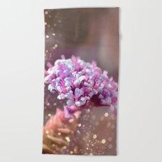 Pastel vibes floral IV Beach Towel