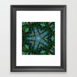 Lost in Moss Framed Art Print