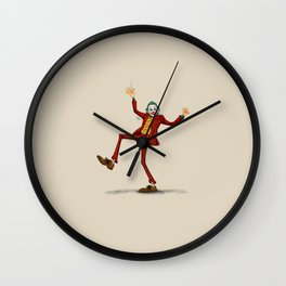 Joaquin Clown Wall Clock