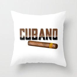 Cubano Throw Pillow