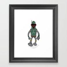 Bender Fett Framed Art Print