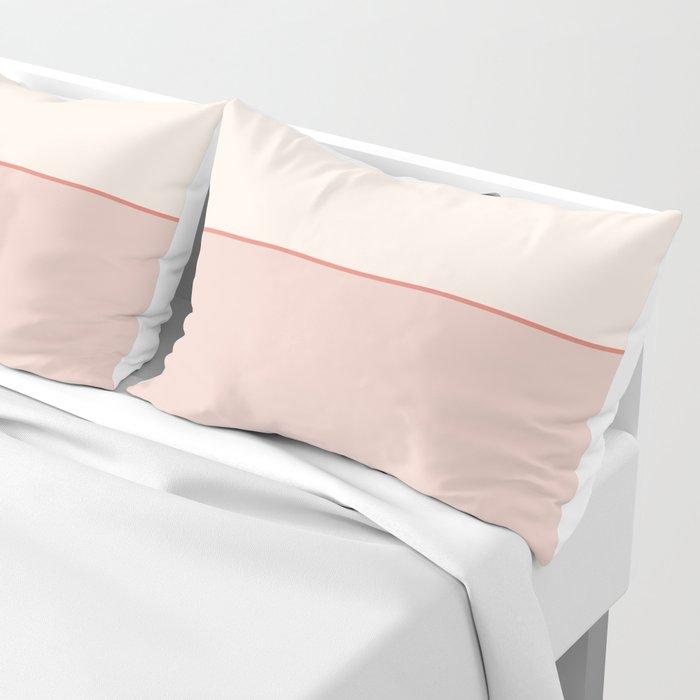 Subtle Spring Color Block Pillow Sham