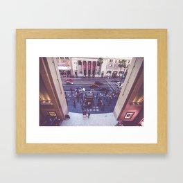 Hollywood Blvd Live with Jimmy Kimmel Studio Framed Art Print