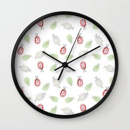 Bug rush Wall Clock
