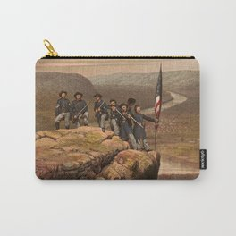Union soldiers at Point Lookout, Tennessee Carry-All Pouch