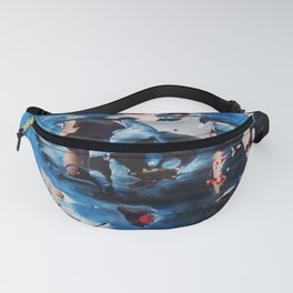 Blue 004 Fanny Pack