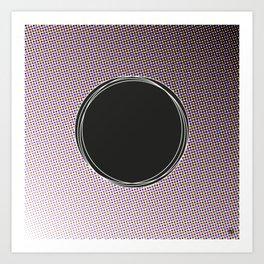 HalftoneIII/ Art Print