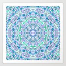 Colour Aquatica Kaleido I Art Print