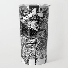 Enlil's battle with Anzu Travel Mug
