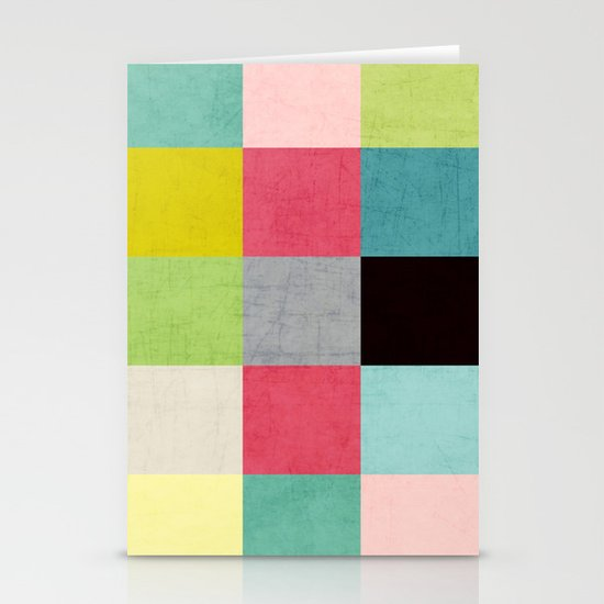 color block II Stationery Cards