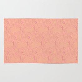 Lo'i Love Pink on Peach Rug