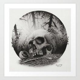 A Distance Silence Art Print