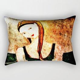 Ocean Blessing, Heart Of A Mermaid Rectangular Pillow