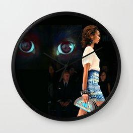catwalk 003 Wall Clock