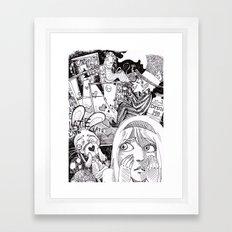 Little Alice Framed Art Print