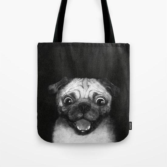 Snuggle pug Tote Bag