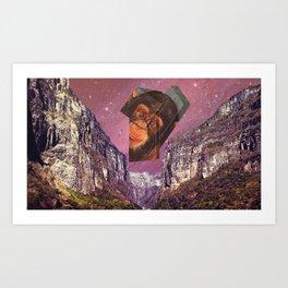 Planeta de los simios Art Print