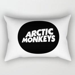 Arctic the monkeys logo Rectangular Pillow