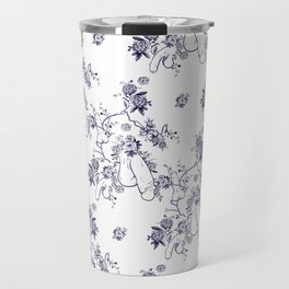 Penis Pattern Travel Mug